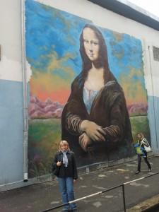 Mona Lisa in Sumy