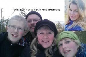 1603 family photo montage